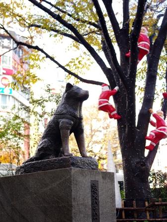渋谷駅前から表参道