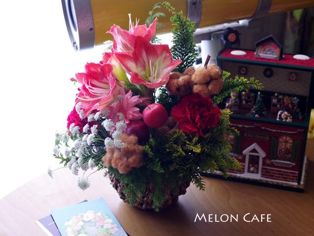 コラボ企画のお花ありがとうございます