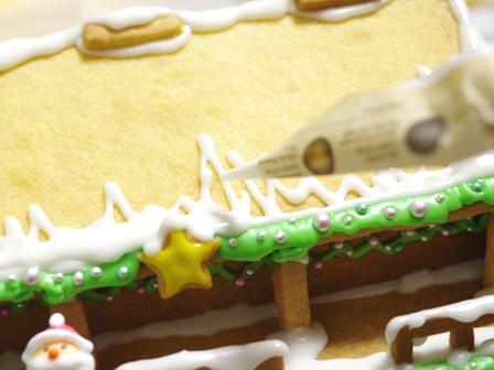2015クリスマスのヘクセンハウスお菓子の家10