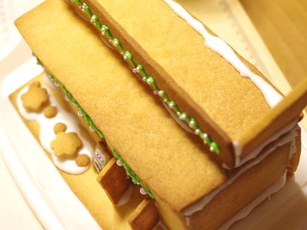 2015クリスマスのヘクセンハウスお菓子の家07
