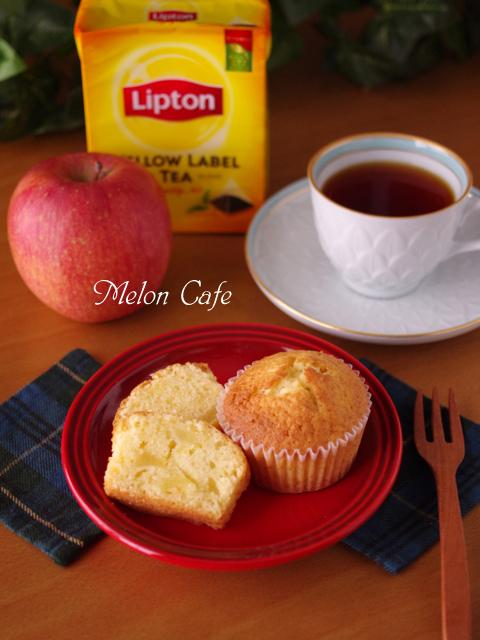 りんごのカップケーキアップルパウンドケーキa