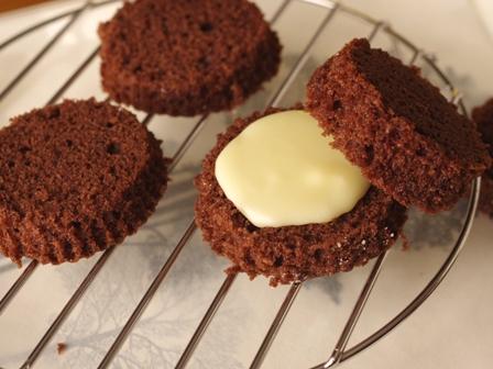 ホットケーキミックスで作る白いガトーショコラ10