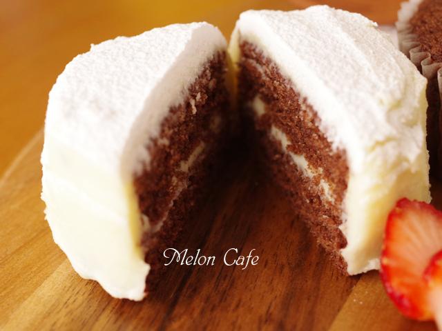 ホットケーキミックスで作る白いガトーショコラ16