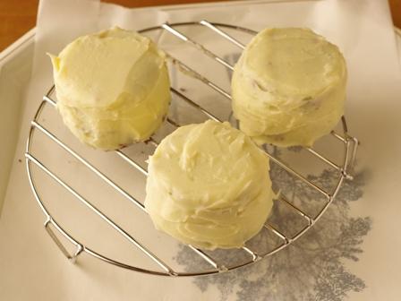 ホットケーキミックスで作る白いガトーショコラ14