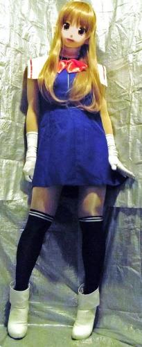 青ドレスア4