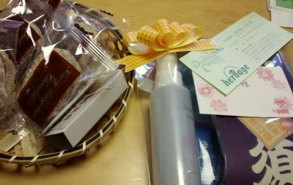 お菓子とプレゼント.