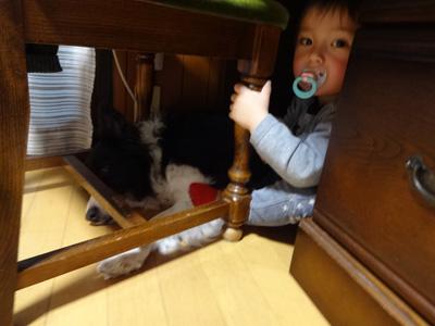 VK机の下