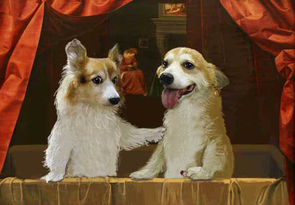 浴槽のピノホリ姉妹