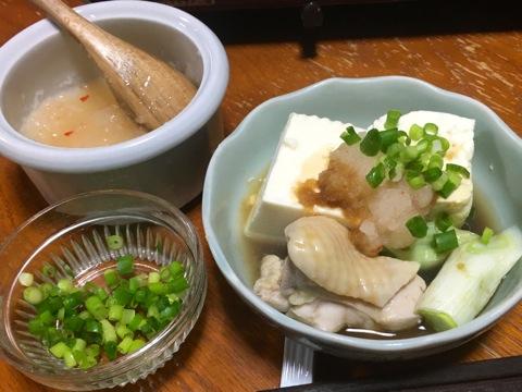 肉野菜豆腐