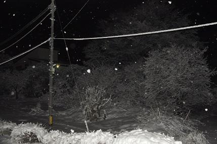 雪の夜景 12月17日