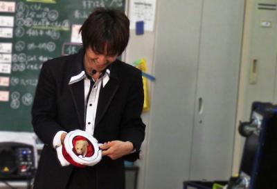 関西、大阪のマジシャンみっきゅん,ゴールデンハムスター,キンクマ,出現マジック,プロダクション,動物,手品