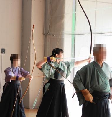 弓道やってる証拠写真