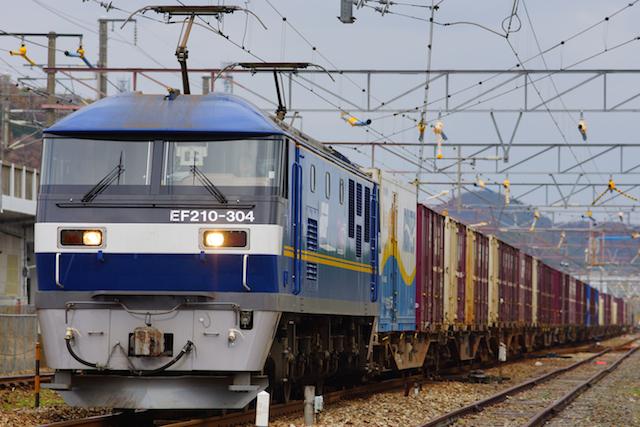 Dec1215 JR Freight EF210-304 1
