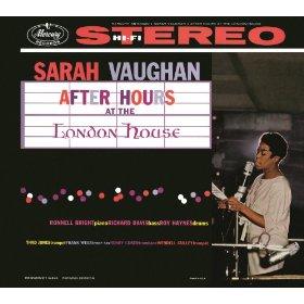 Sarah Vaughan(Speak Low)