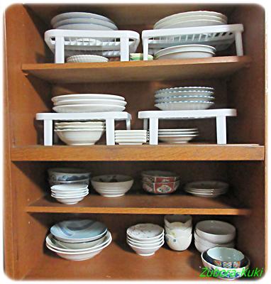 キッチン・食器棚の断捨離後の状況