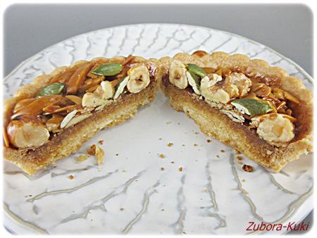 4種のナッツキャラメルタルトとザクザクシリアルクッキー