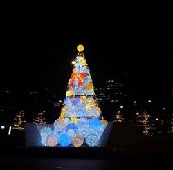 クリスマスイルミ@インペリアルホテル