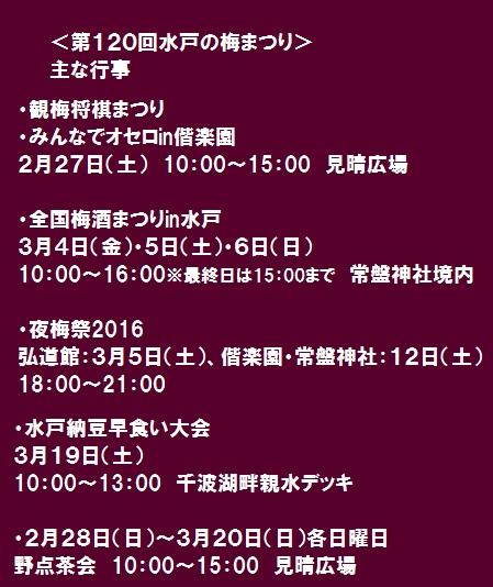 イベント予定