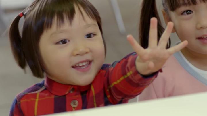 マクドナルドCM可愛い勘違い(笑)よんしゃい(4歳)