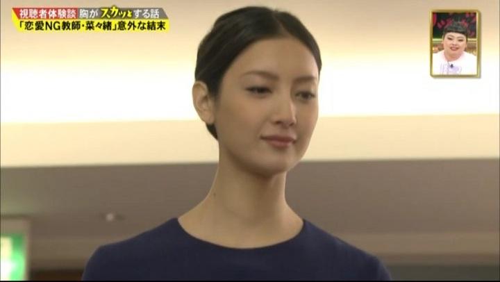 【サイレーン】橘カラ(菜々緒)悪徳教師役で登場…最後に笑顔