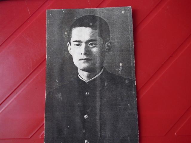 若き兵士の命が日本の平和の礎。