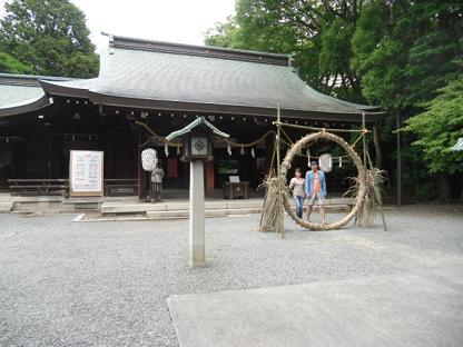 4 水無瀬神宮の拝殿