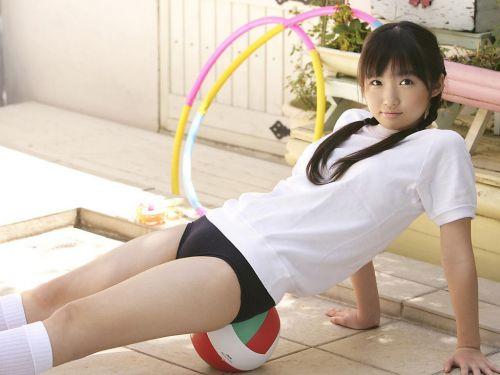 【画像】お尻を付き出したブルマ女子高生の股間エロ過ぎ! 39枚 No.34