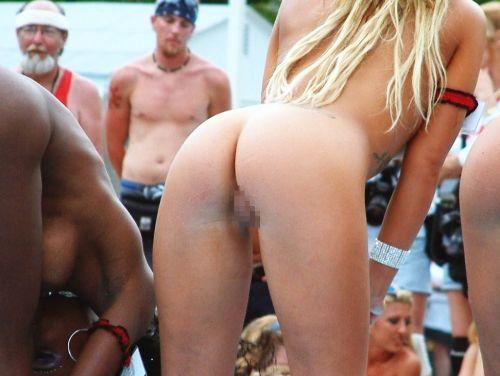 全裸巨乳外人だけを厳選したヌーディストビーチの盗撮画像 35枚 No.11