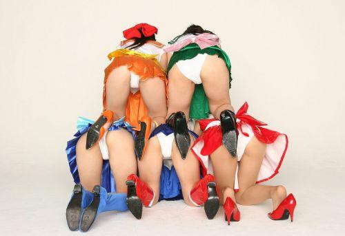 ミニスカ女子高生がお尻が突き出してパンモロ股間ぷっくりエロ画像 39枚 No.23