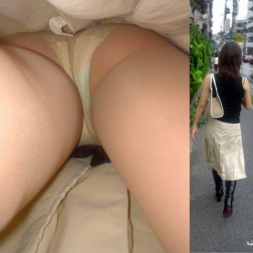 【画像】街中でOLさん達のスカートを逆さ撮り盗撮! 44枚 No.6