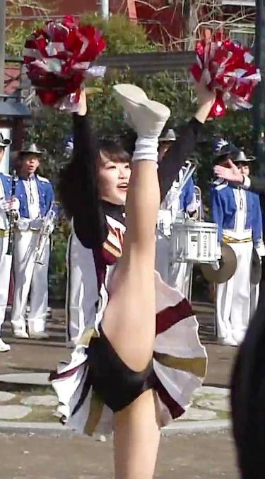 【エロ画像】チアリーダーのお尻、お腹、脇とかが最高に抜ける件! 36枚 No.8