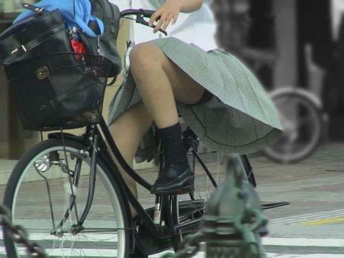 JKの自転車パンチラ盗撮画像集めたから貼っていくわ! 40枚 No.4