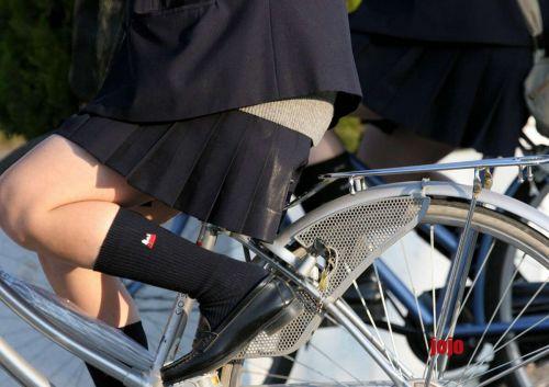 JKの自転車パンチラ盗撮画像集めたから貼っていくわ! 40枚 No.7