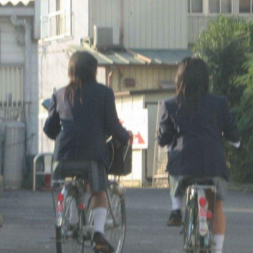 JKの自転車パンチラ盗撮画像集めたから貼っていくわ! 40枚 No.16