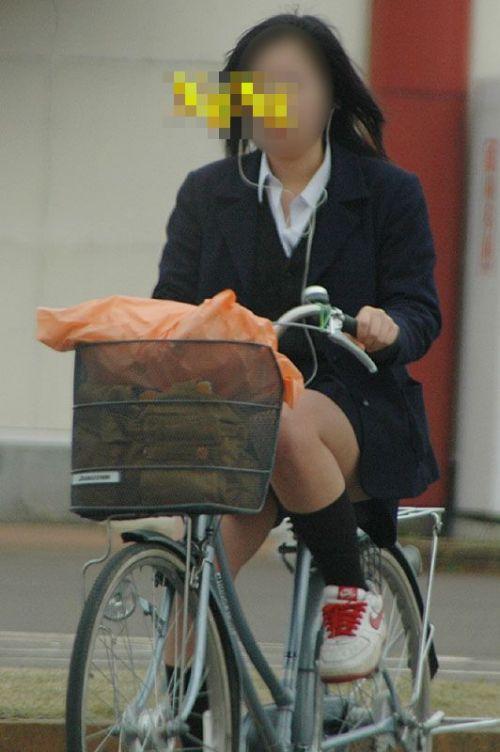 JKの自転車パンチラ盗撮画像集めたから貼っていくわ! 40枚 No.32