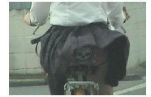 JKの自転車パンチラ盗撮画像集めたから貼っていくわ! 40枚 No.33