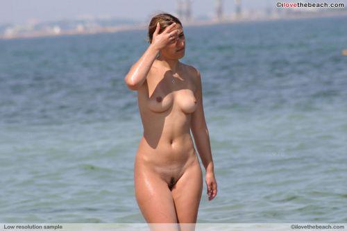 外国人美女だらけの楽園!ヌーディストビーチの盗撮エロ画像! 37枚 No.2