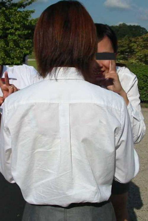 セーラー服が透けて乳首が見えることもあるJKの透けエロ画像 43枚 No.12
