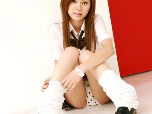 【画像】女子校生が無邪気にパンチラしてるエロ画像まとめ 36枚 No.36