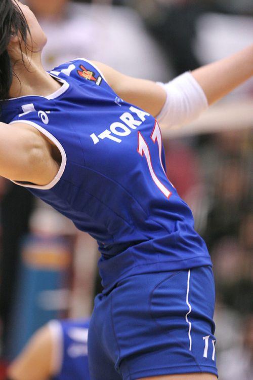 【盗撮画像】引き締まった女子スポーツ選手の体エロ過ぎ! 36枚 No.32