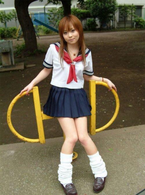 【画像】女子高生の可愛さの限界をまとめたエロ画像 40枚 No.17