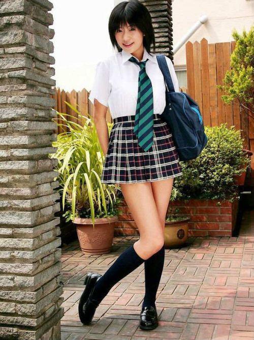 【画像】女子高生の可愛さの限界をまとめたエロ画像 40枚 No.27