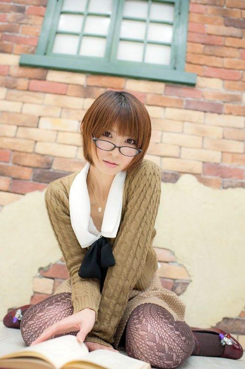 眼鏡でエロ賢そうにみえちゃう女の子のエロ画像 36枚 No.6