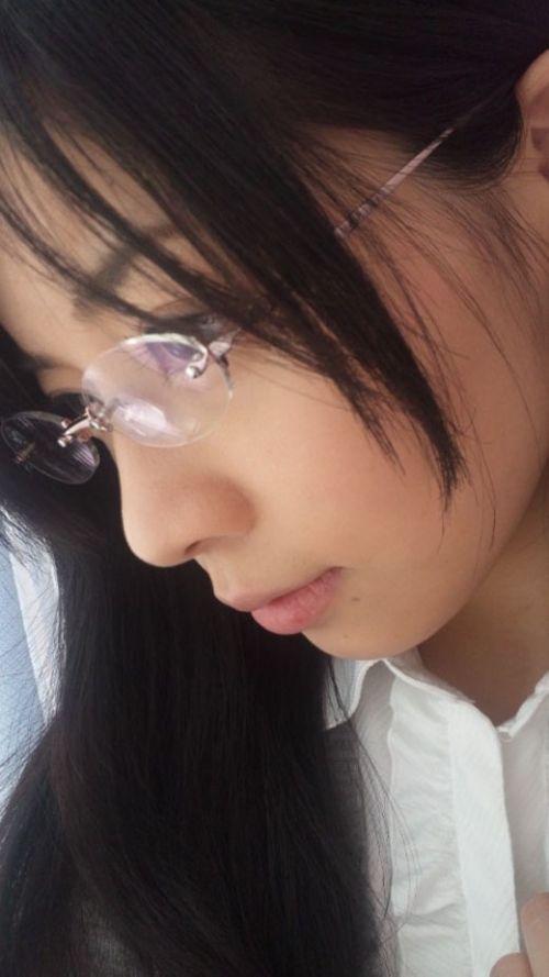 眼鏡でエロ賢そうにみえちゃう女の子のエロ画像 36枚 No.13