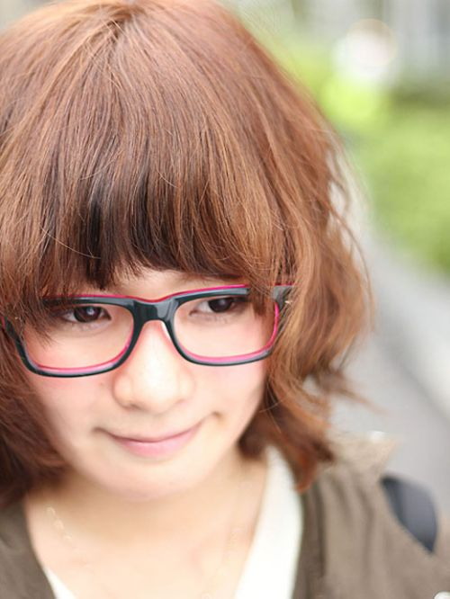 眼鏡でエロ賢そうにみえちゃう女の子のエロ画像 36枚 No.15