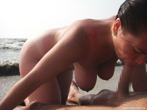外人がビーチで顔面騎乗位やフェラとかしちゃってるエロ画像まとめ 34枚 No.3