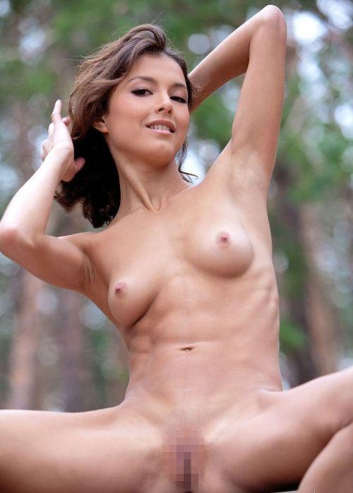 【海外】筋肉ムキムキ外国人女性のセクシーな腹筋エロ画像 38枚 No.4