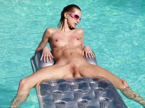 (海外)筋肉ムキムキ外国人女性の色っぽいな腹筋えろ写真 38枚
