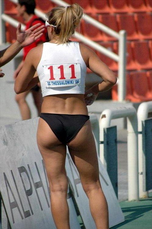 【勃起注意】短パン姿の陸上女子選手のエッチな体の画像まとめ 38枚 No.19