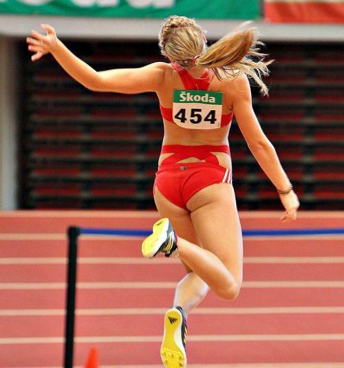 【勃起注意】短パン姿の陸上女子選手のエッチな体の画像まとめ 38枚 No.23